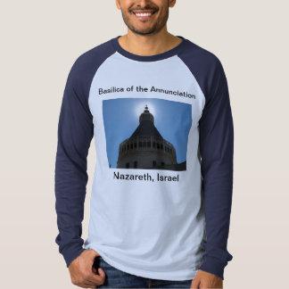 Basílica de la camiseta del anuncio poleras