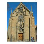 Basílica de la catedral de St Francis Santa Fe nan Tarjeta Postal