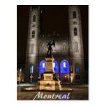 Basílica de Montreal Notre-Dame Postal