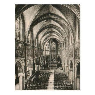 Basílica de Notre Dame du Sacre-Coeur París Tarjeta Postal