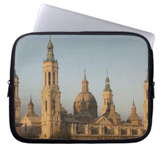 Basilica de Nuestra Senora de Pilar, Ebro River Computer Sleeve