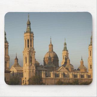 Basilica de Nuestra Senora de Pilar, Ebro River Mousepad