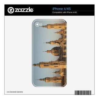 Basilica de Nuestra Senora de Pilar, Ebro River Skin For The iPhone 4