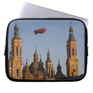 Basilica de Nuestra Senora de Pilar, sunset Laptop Sleeve