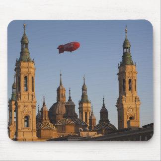 Basilica de Nuestra Senora de Pilar, sunset Mouse Pad