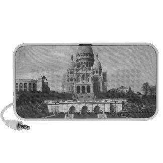 Basílica de Sacre-Coeur, Montmartre, 1876-1910 Laptop Altavoz