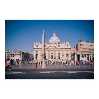 Basílica de San Pedro en la Ciudad del Vaticano Posters