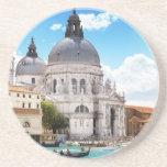 Basílica de Santa María en Venecia, Italia Posavasos Manualidades