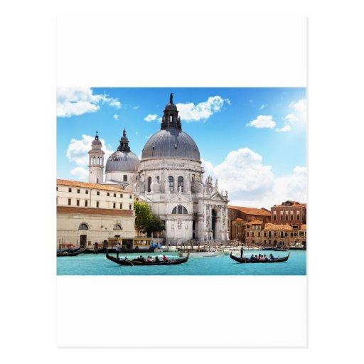 Basílica de Santa María en Venecia, Italia Postal