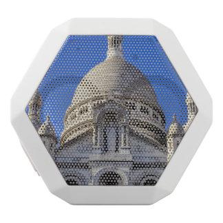 Basílica de Sarcre Coeur en París, Francia Altavoces Bluetooth Blancos Boombot REX