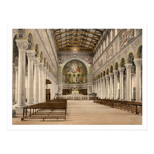 Basílica de St Boniface, Munich, Baviera, Alemania Postales
