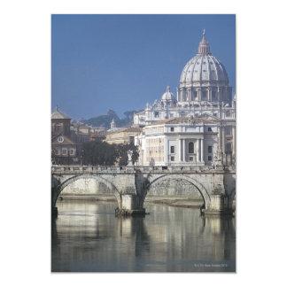 """Basílica de St Peters Invitación 5"""" X 7"""""""