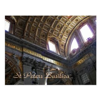 Basílica de St Peters Tarjetas Postales