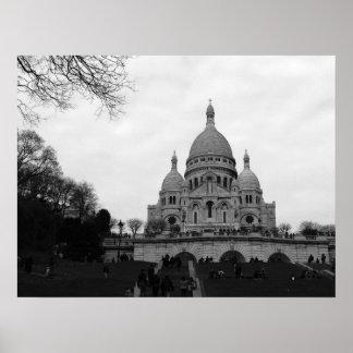 Basílica del Sacré Coeur Póster