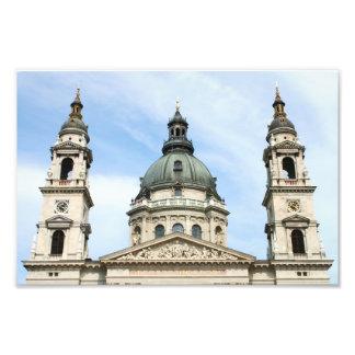 Basílica del St Stephens y torre de reloj en Arte Con Fotos