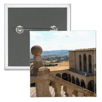 Basilica di San Francesco Pinback Button