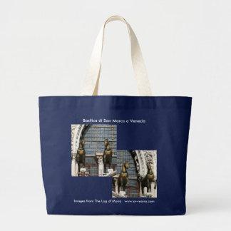 Basilica di San Marco a Venezia (Venice) Large Tote Bag