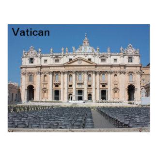 Basilica di San Pedro, Ciudad del Vaticano, Roma, Tarjeta Postal