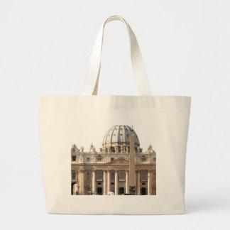 Basilica di San Pietro Jumbo Tote Bag