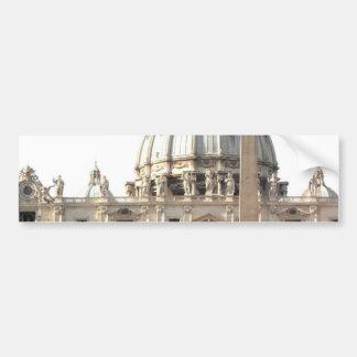 Basilica di San Pietro Car Bumper Sticker