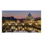 Basilica di San Pietro Roma Italia Poster