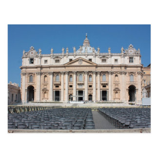 Basilica di San Pietro, Vatican City, Rome, Italy Postcard