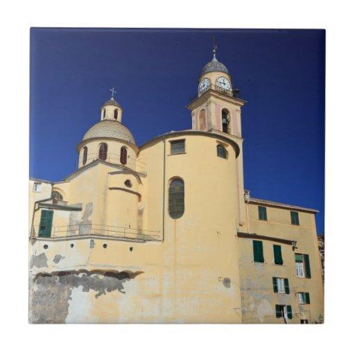 Basílica en Camogli Azulejo Cerámica