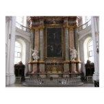 Basílica en Weingarten, Alemania Tarjetas Postales