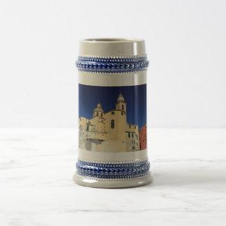 Basilica in Camogli Beer Stein