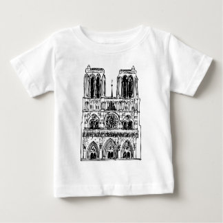 basilica Notre Dame Baby T-Shirt