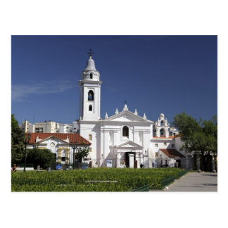 Basílica Nuestra Senora del Pilar en Recoleta 2 Tarjetas Postales