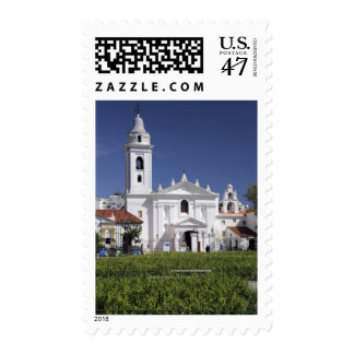 Basílica Nuestra Senora del Pilar en Recoleta Timbres Postales