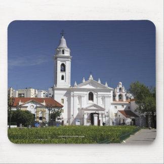 Basilica Nuestra Senora del Pilar in Recoleta 2 Mousepads