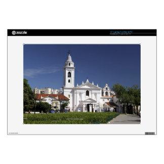 Basilica Nuestra Senora del Pilar in Recoleta 2 Skin For Laptop