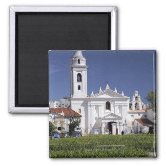 Basilica Nuestra Senora del Pilar in Recoleta Refrigerator Magnet