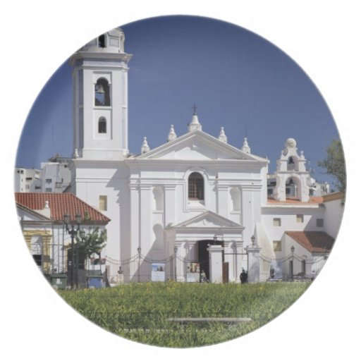 Basilica Nuestra Senora del Pilar in Recoleta Plates