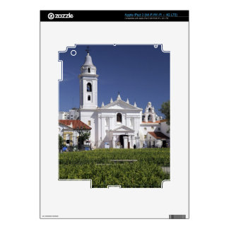 Basilica Nuestra Senora del Pilar in Recoleta Decal For iPad 3