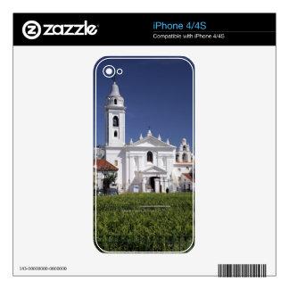 Basilica Nuestra Senora del Pilar in Recoleta Skin For iPhone 4