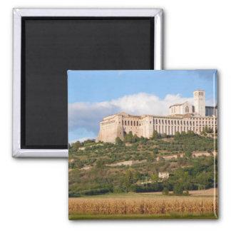 Basilica of Assisi Fridge Magnets