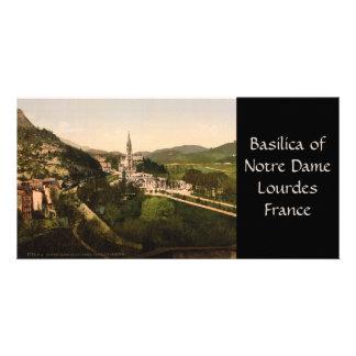 Basilica of Notre Dame, Lourdes, France Photo Card