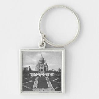 Basilica of Sacre-Coeur, Montmartre, 1876-1910 Keychain