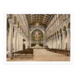 Basilica of St Boniface, Munich, Bavaria, Germany Postcard