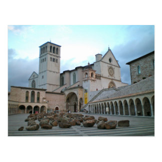 Basilica of St Francis, Assisi Postcard