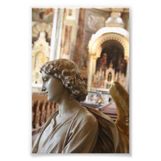 Basilica of St. Josaphat Interior Statue Photo Print