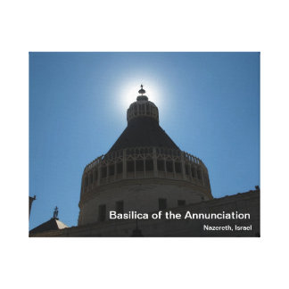 Basilica of the Annunciation, Nazereth Gallery Wrapped Canvas