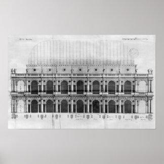 Basílica Palladiana en Vicenza Poster