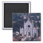 Basilica Santa Croce 2 Inch Square Magnet