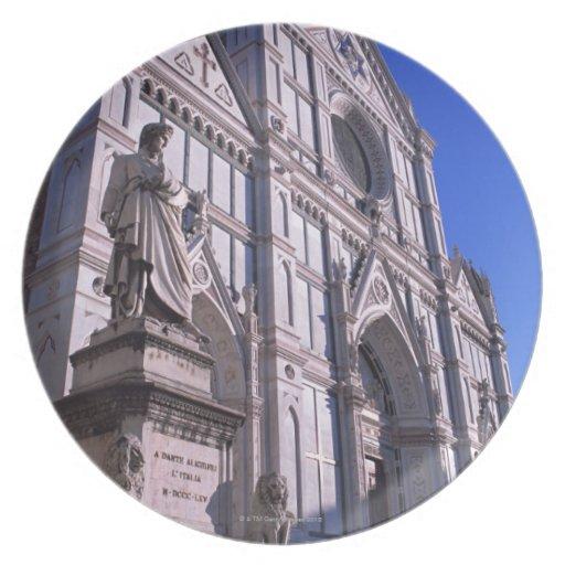 Basilica Santa Croce 2 Plates