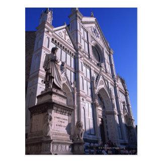 Basilica Santa Croce 2 Postcard