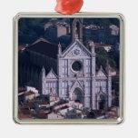 Basilica Santa Croce Metal Ornament